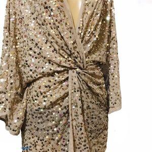 ASOS Dresses - ASOS sequin embellished kimono style Party dress